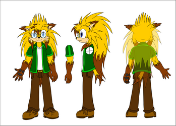 Euan the Echidhog reference by EUAN-THE-ECHIDHOG