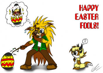 Happy Easter Fools! by EUAN-THE-ECHIDHOG