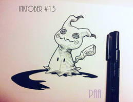 Inktober 2016 - 13 by Paa-H