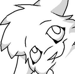 Free Animal Lineart Icon Thing