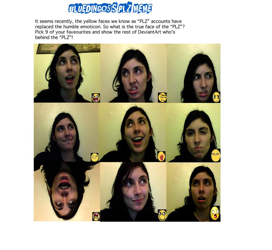 Plz Face Meme by BlackWingedKat