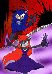 the Deadly Duo of the Night by GSlayer2004