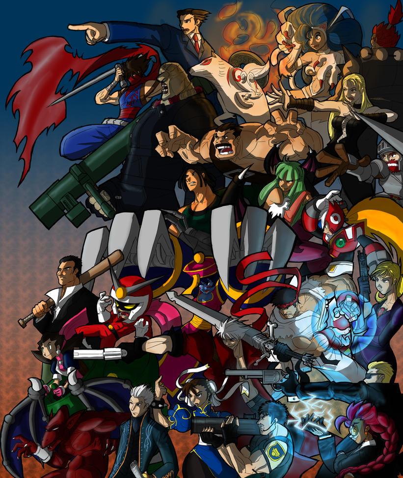 Marvel Vs Capcom 3 Wallpaper Hd Wallpaper Pictures