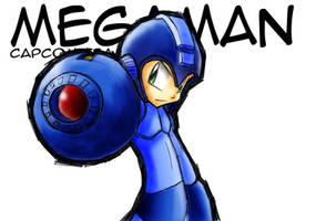 Megaman by Franckjp