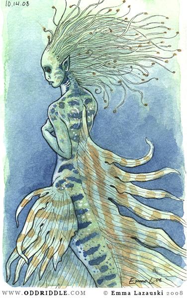 moleskine - fish maid by emla