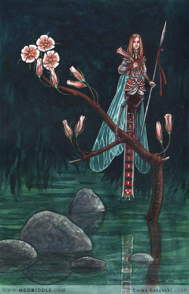 Damselfly Faerie by emla
