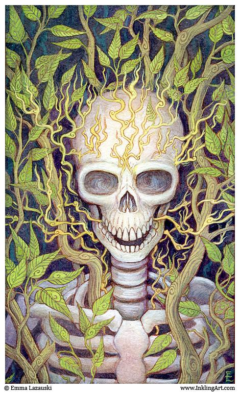 Skeletal Rebirth by emla