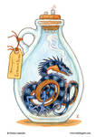 Bottled: Blue Thornwyrm