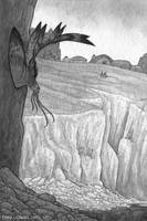 Cliff Fish by emmalazauski