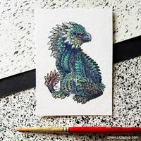 Smaugust: Dracogryph by emmalazauski
