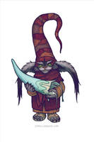 Goblin Hat Maker by emmalazauski
