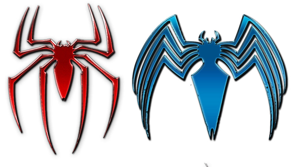 symbol of spiderman and venom by kurokuma09 on deviantart rh kurokuma09 deviantart com Spider-Man 1 Logo 2002 Spider-Man 2099 Logo