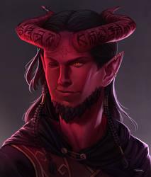 Portrait of Gwendarrion