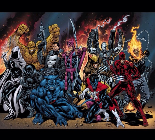 Villain of the Week: Blackheart. | Marvel Superstars ... |Ghost Rider Bad Guy Look