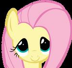 Fluttershy - Cute face by Skitt-less