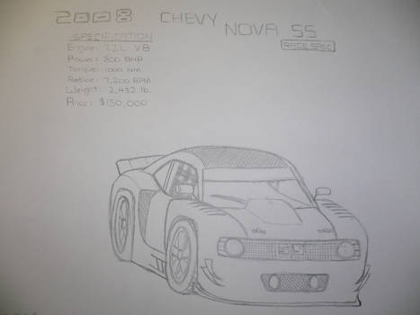 Chevy Nova SS RaceSpec Concept
