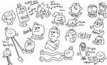 *more mr men doodles*