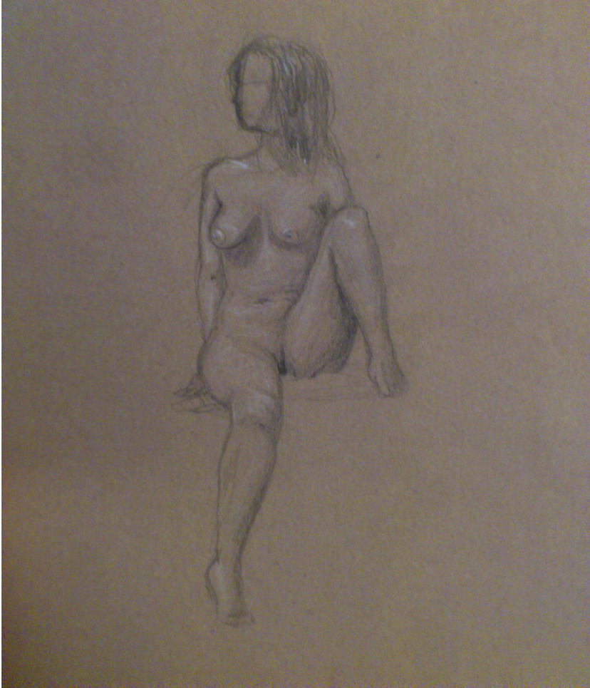Nude Drawing 2 by Snippett95