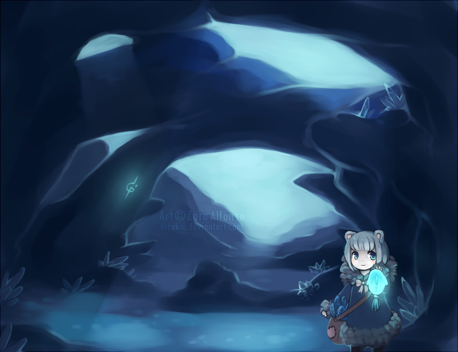 Crystalite Caverns by ZaraAlfonso