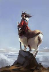 Alpine Centaur by ZaraAlfonso