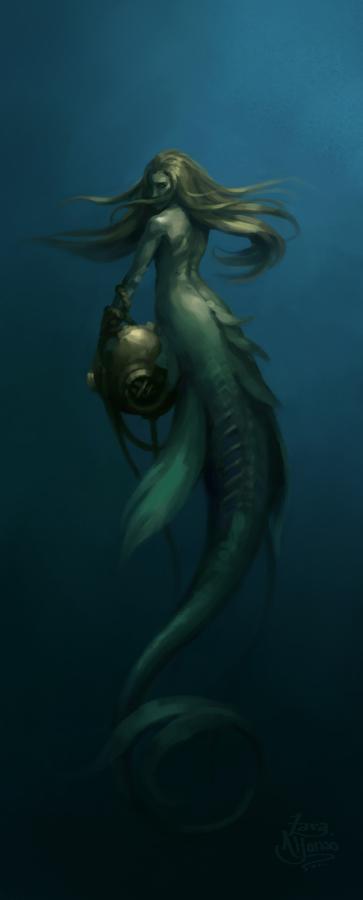 Deepsea Mermaid by ZaraAlfonso