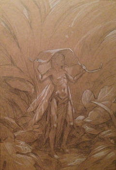 Rain Fairy Sketch
