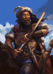 Attila the Hun by ZaraAlfonso