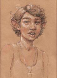 Elf Portrait by ZaraAlfonso
