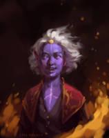 The Fire Sorcerer by ZaraAlfonso