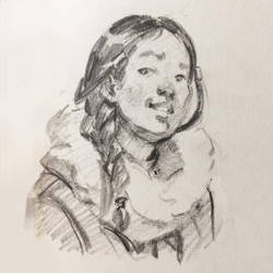 Katara Sketch by ZaraAlfonso