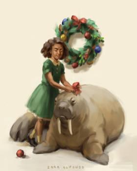 Holiday Walrus