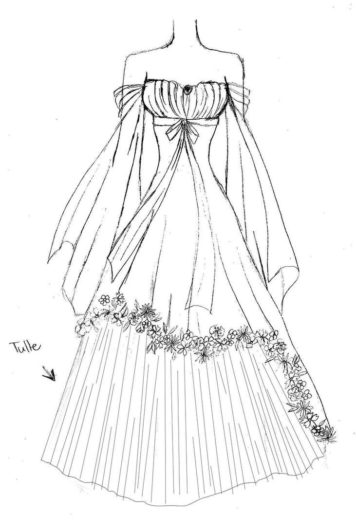 Flower Dress By Upon A Remstar On Deviantart