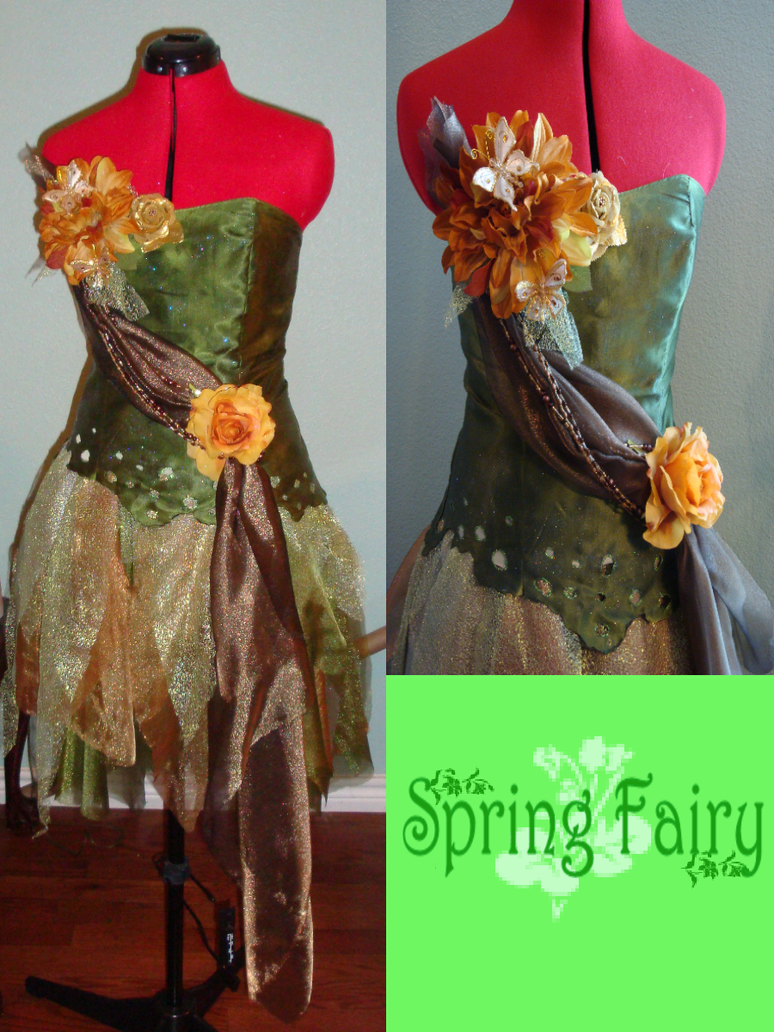 Spring Fairy 2 by Upon-a-RemStar