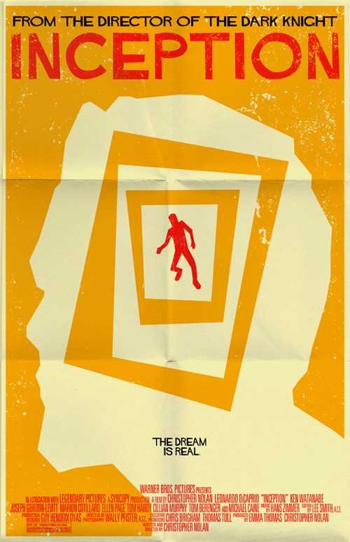 inception poster by markwelser on deviantart
