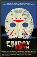Friday the 13th poster by markwelser