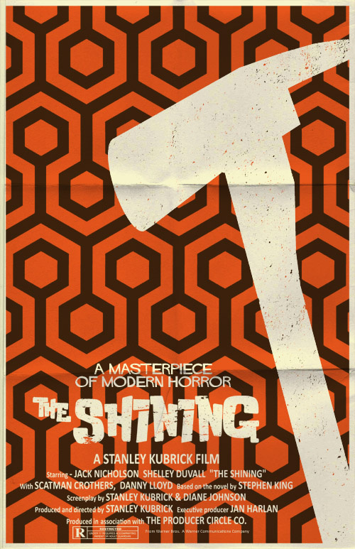 The Shining poster by markwelser
