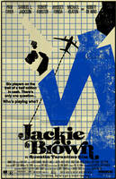 Jackie Brown poster by markwelser
