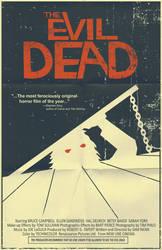 The Evil Dead poster by markwelser