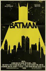 Batman movie poster by markwelser