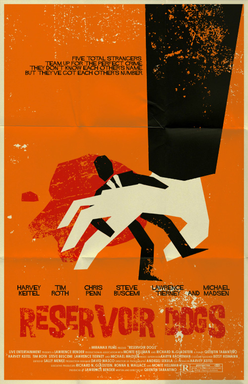 Reservoir Dogs poster by markwelser