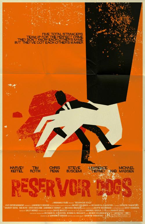 Reservoir Dogs poster by markwelser