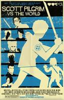 Scott Pilgrim poster by markwelser