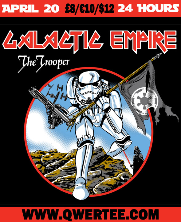 Trooper Shirt! At Qwertee.com by markwelser