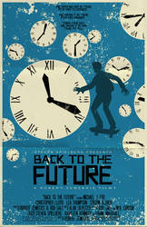 Back To The Future Poster by markwelser