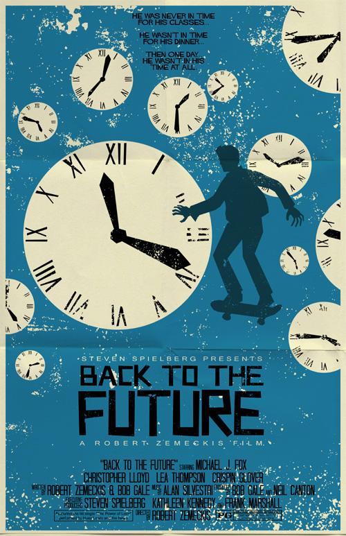 back to the future poster by markwelser on deviantart. Black Bedroom Furniture Sets. Home Design Ideas