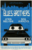 Blues Brothers Poster by markwelser