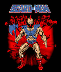 Beard-Man by markwelser