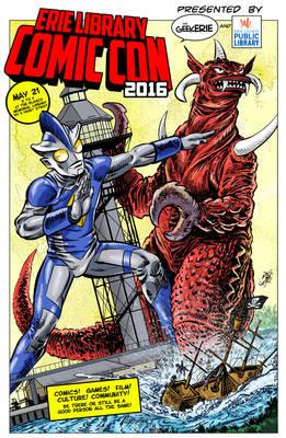 Erie Library Comic Con 2016