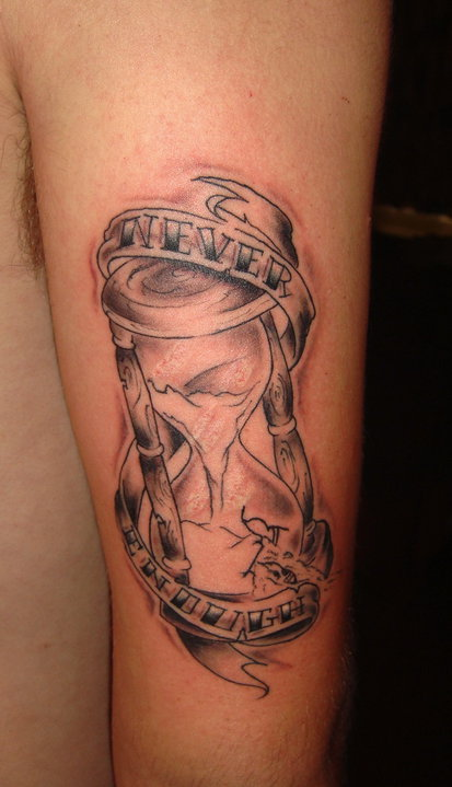 Pin hourglass tattoos designs and ideas on pinterest