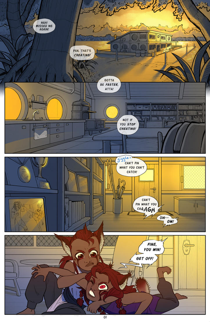 Baby Bird page 1 by Impybutt